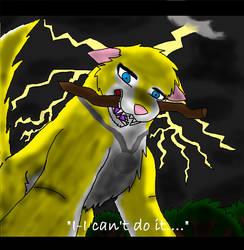 'I-I can't do it....' by rexyplexy