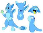 Dutch Angel Dragon: Lapis Lazuli by rexyplexy