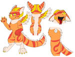 Dutch Angel Dragon: Jasper by rexyplexy