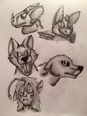 Traditional Headshot Commissions Open! by rexyplexy