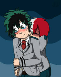 Tododeku Week 2: Insecurities by rexyplexy