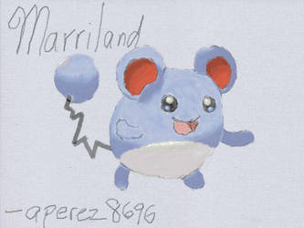 Marriland's Favorite Pokemon Marill by aperez8696