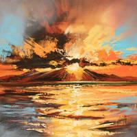 Arran Sunset by NaismithArt