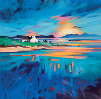 A View to Eigg and Rum by NaismithArt