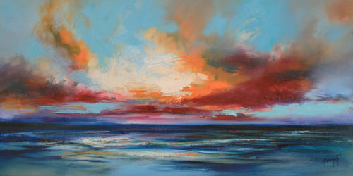Ocean Blue by NaismithArt