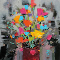 Bouquet of Colour by NaismithArt