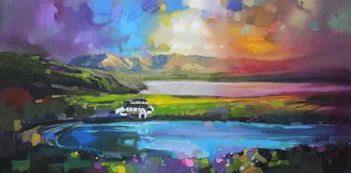 Gesto Farm, Skye by NaismithArt