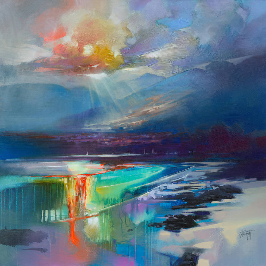 100cm Arran Shore by NaismithArt