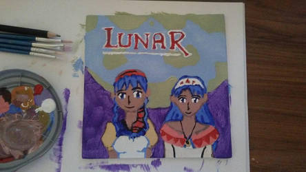 My Lunar Heroines Painting by LadyofHeliodor
