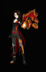 Cinder Fall - Armored Attire (Color Base) by ACGearmaker