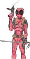 Deadpool by Drakatha