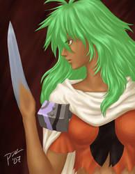 Xenogears: Bladehand by PriscillaKim
