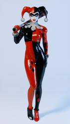 Harley Quinn Render by Chrissy-Tee