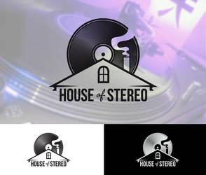 House of Stereo logo by vsMJ