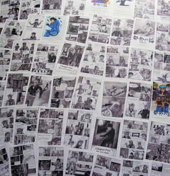 Printed Manga Pages I by TheKarelia