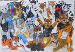 20 Furries by TheKarelia
