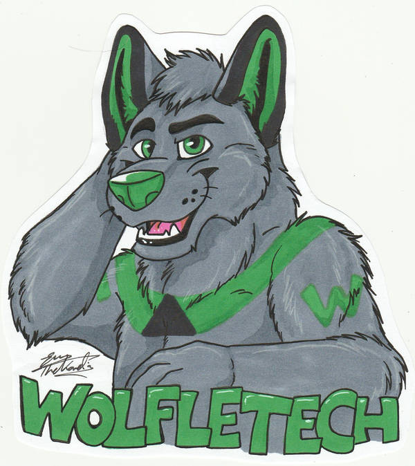 Wolfletech badge by TheKarelia