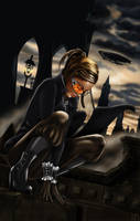 Steampunk Spy by ochie4