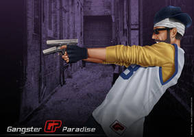 Gangster Paradise Poster 3 by ochie4