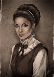 Neva Portrait by ochie4