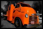 Big Orange Truck by Riverine
