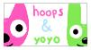 Hoops n' Yoyo -STAMP- by CranberryNoodles