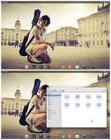 Elementary OS by xaahudude