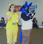 Pikachu+Lucario:AnimeNEXT 2010 by HM-and-anime-fan