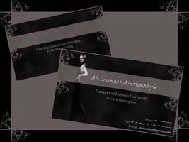 Business Card.. Its Mine.. by alshaimaa