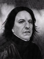 Severus Snape by Rosentod