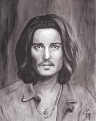 Johnny Depp No.6 by Rosentod