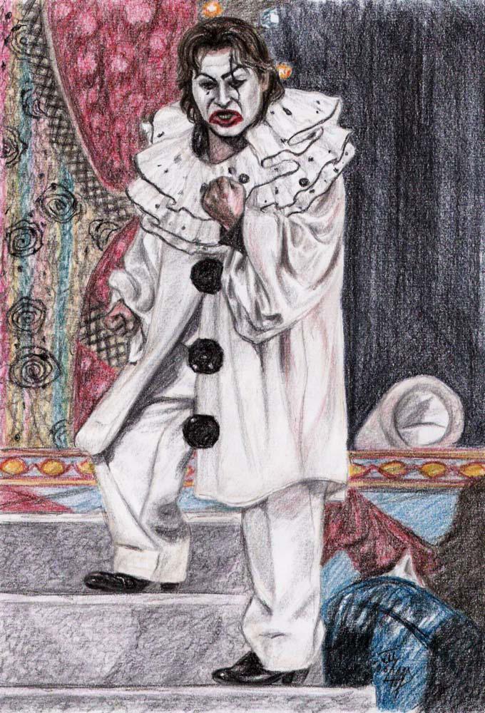 Canio as Pagliaccio VI by Rosentod