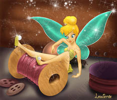 Tinkerbell : The fairy by Laurine-Tellier