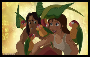 Tarzan and Jane 2 by Laurine-Tellier