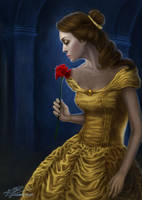 Belle - The Beauty and the Beast by Laurine-Tellier
