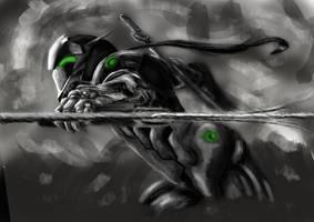 Dark Genji [Original Speedpaint] by Reipher