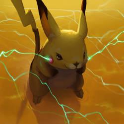 Pikachu by aocom