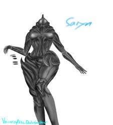 Saryn WIP by VoiceOfTheDarkSector