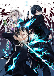Blue Exorcist by xephonia