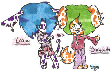 My new characters by Sierrus