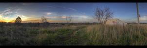 Sunset On Waverly Hill by DaishiMkV