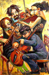 Quartet by jasinski