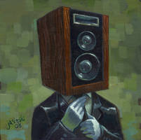 Hi Fidelity Head by jasinski