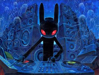 DJ Black Rabbit by jasinski