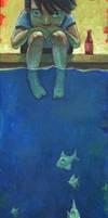 Fish and Me by jasinski