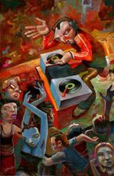 DiscoBlues by jasinski