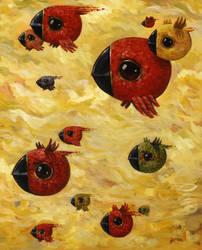 Migration of Birds 2 by jasinski