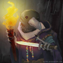 DnD - Kenku by Finf