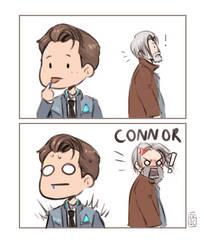 CONNOR NO! by Meriinu