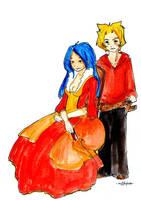 Vampire et Servant by Aiko-Katon